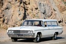 Länsirannikon tuulia – Oldsmobile Fiesta