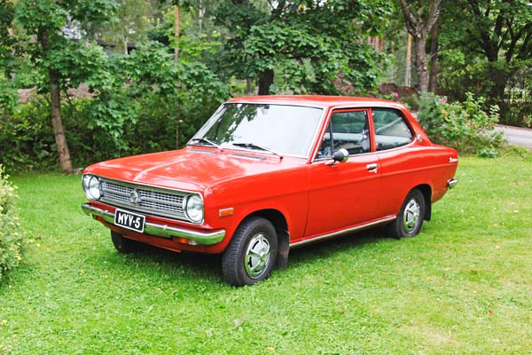 Datsun 1200 De Luxe Finn ´70 - Perheenjäsen