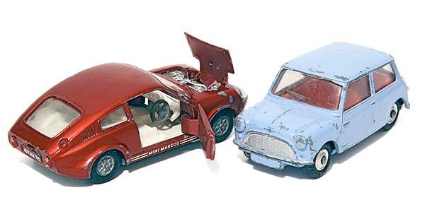 Dinky & Corgi -pikkuautot