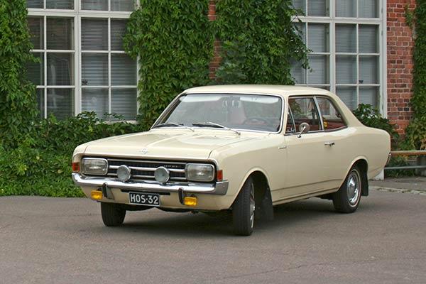 Opel Rekord C 1900 '69 - Papan