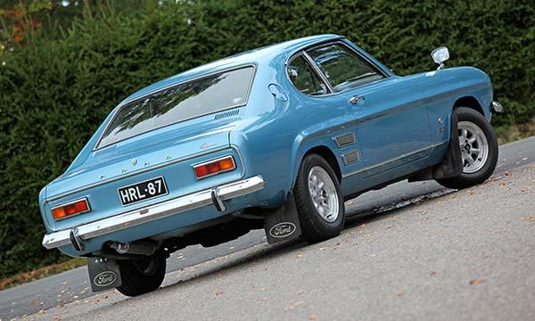 Ford Capri 1600 L '72 - Villihevosen reseptillä