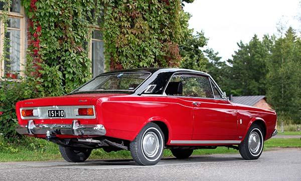 Ford 20M TS '68 - Harvinainen hardtop