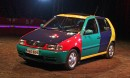 VW Polo Harlekin '96 - Klovnin kyynel