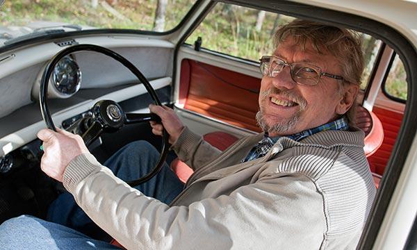 Austin Mini '65 - Erilainen kiertopalkinto