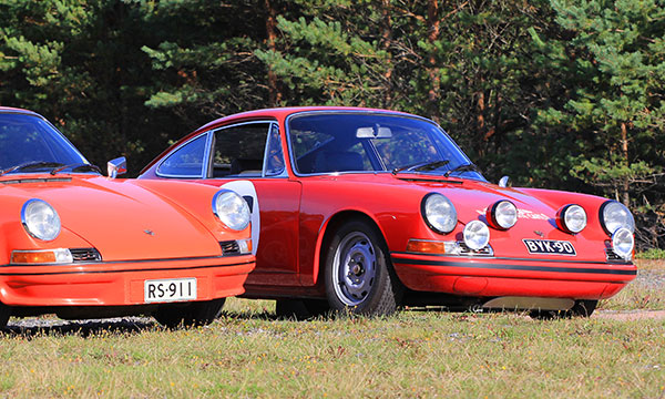 Porsche 911 T/R ja Carrera RS - Legendojen synty