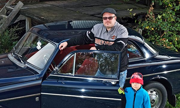 Volvo Amazon ´67 - Konemestarin suosikki