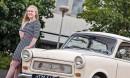 Trabant P601 '65 - Kakstahtityttö ja Trabant