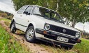 Volkswagen Golf GL ´85 – Alppivalkoinen