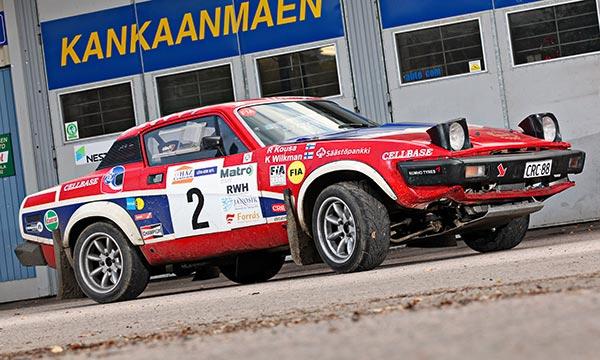 Triumph TR7 V8 Historic '79 – Kilpakasi