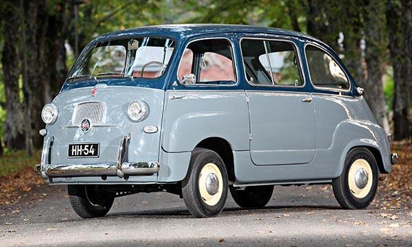 Fiat 600 Multipla '56 – Monikäyttöinen Multipla