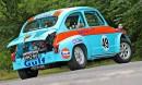 Fiat 600 -71 Abarth-replika – Juvosen jalanjäljissä