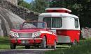 Triumph Vitesse '66 & Eriba-matkailuvaunu –  Brittiläistä vetovoimaa