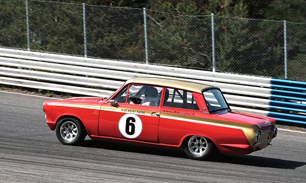 Ford Cortina GT – Tähtiperä Ahvenistolla