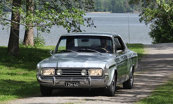 Ford 20M XL Hardtop Automatic '69 – Kestävää tyyliä