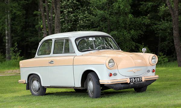 Trabant P50 '62 – Kaikille aisteille