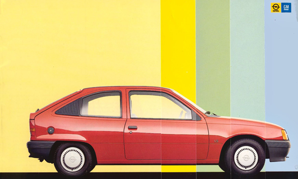 Takavuoden auto – Kuutioita ja pyöreitä muotoja