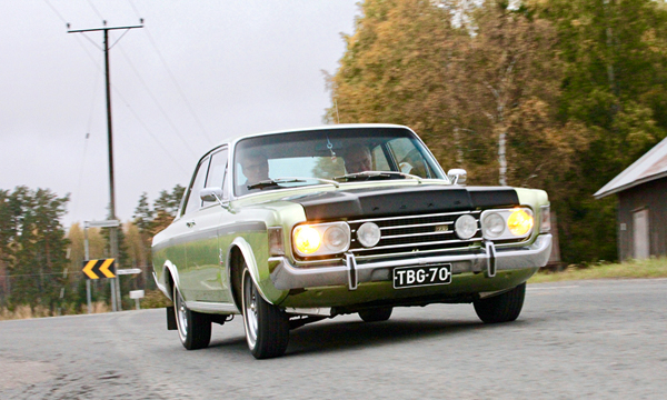 Väkevän makea – Ford 20M RS Turbo May '69