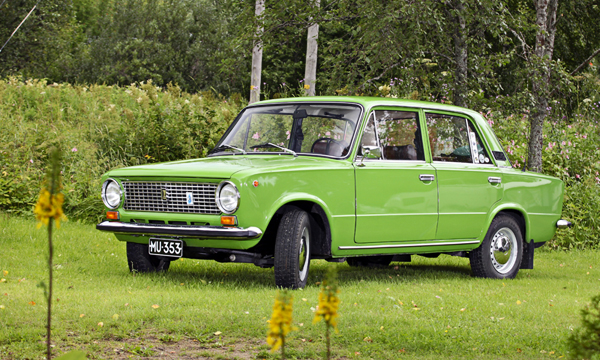 Ajo huomispäivään – Lada 1200 '79