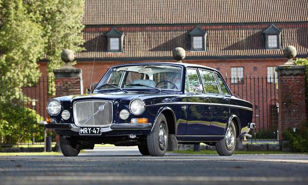 Huoliteltu herrasvaunu – Volvo 164 '70