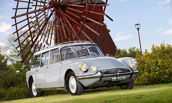Futuristinen Familiale – Citroën ID 19 Familiale '63