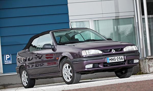 Tuleva klassikko: Iloa pikkurahalla – Renault 19 Cabriolet