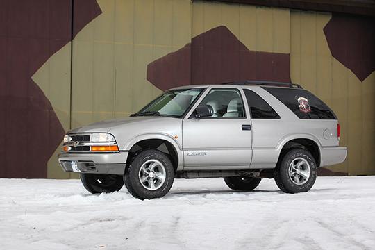 Tulevaisuuden klassikko – Chevrolet Blazer 2004