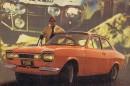 Ralliauto – Escort Mk1 -rallimallit