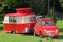 Kääpiöluokan karavaani – Steyr-Puch 700 C '61 + Eriba Puck Export '63