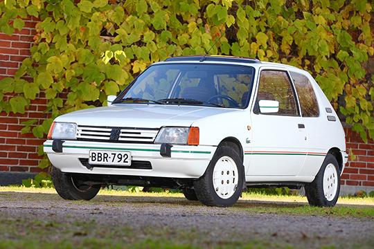 Lempivaate – Peugeot 205 Lacoste '86