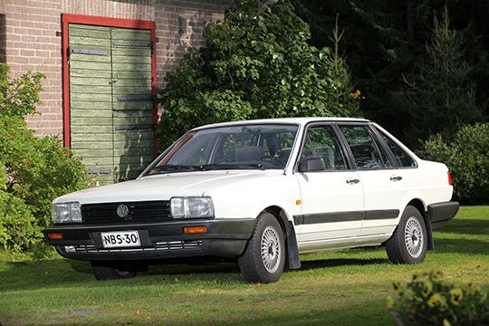 Muuttoauto Meksikosta – VW Corsar CD '86