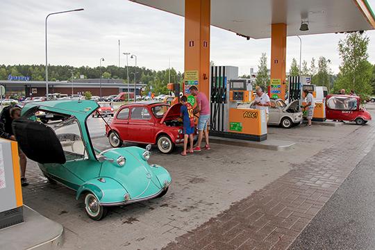 Kääpiöautojen kesäkierros, Perniö-Salo