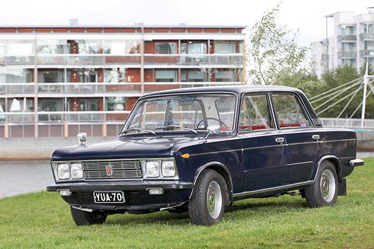 Lännestä itään – Fiat 125 Special '72
