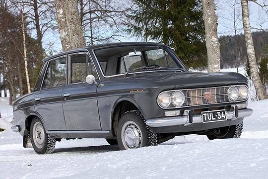 Paalilta pelastettu – Datsun Bluebird '65