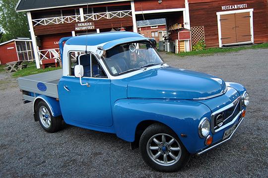 Kuljetusyrittäjän avolava – Volvo Duett '66