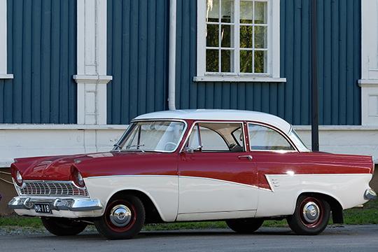 Salakuljettajan työkalu – Ford Taunus '59