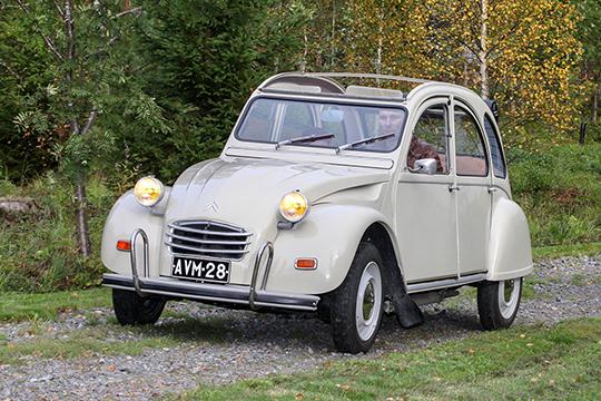 Poikkeuksellinen tapaus – Citroën 2CV4 '70