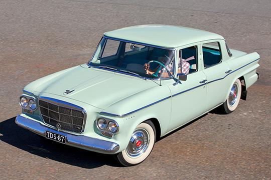 Ajatonta muotia – Studebaker Lark '62