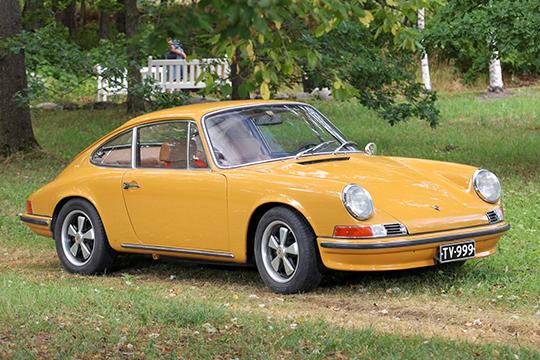 TV:stä tuttu – Porsche 911 T '69