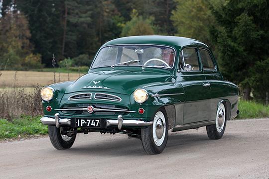 Pirteämpi painos – Škoda 445 '58