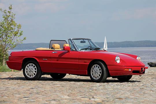 Gruppo Guadrifoglio Finlandese – Alfa Romeo Spider '90