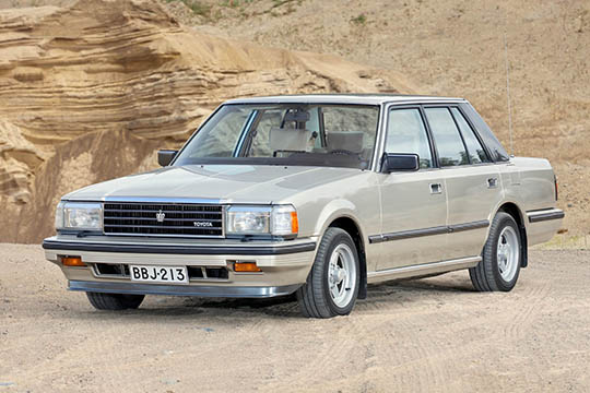 Se hienoin – Toyota Crown Super Saloon '86