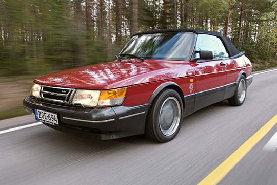 Ahvenanmaan iso ässä – Saab 900 Turbo S Cabriolet '91