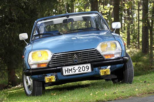 Urheilullista mukavuutta – Citroën GS X3 '80