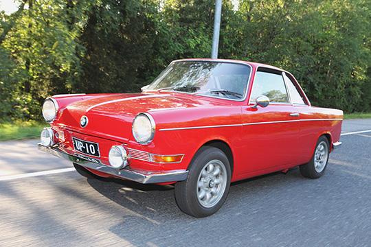 Pitkä tie perille – BMW 700 Coupé '60