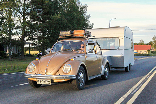 Vaunu Volkkaria myöden – VW 1300 '73 & Teiwi 600 '72
