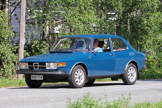 Suvussa kulkenut – Saab 99 2.0 L '73