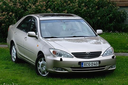 Tuleva klassikko – Toyota Camry V6 2004