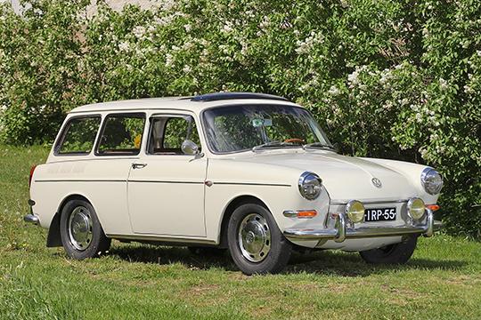 Myöhäinen variaatio – Volkswagen 1500 S Variant '67