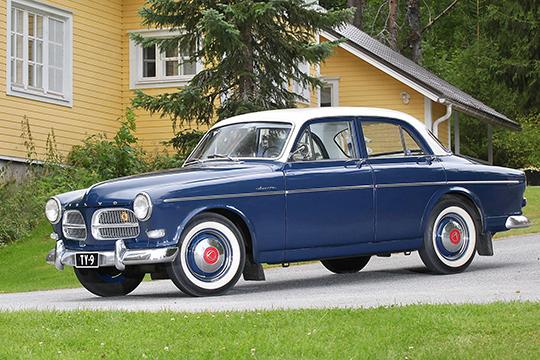 Varhaista vuosikertaa – Volvo Amazon '59