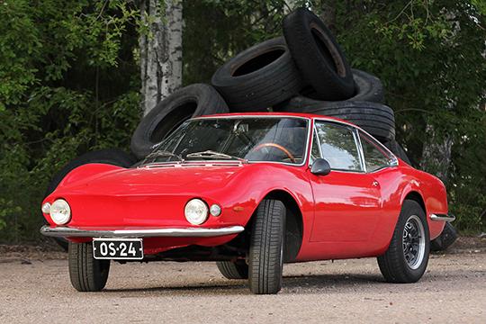 Tavallista kupeempi – Fiat Moretti 850 Sportiva '67